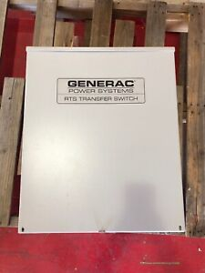 Generac Automatic Transfer Switch Rtsn200g3 480 Volt 200 Amp