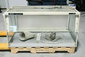 Labconco Protector 48640 00 Fume Exhaust Portable Hood With Magnehelic Gauge