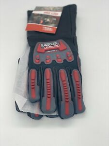 Genuine Lincoln Electric K3109 xl Roll Cage Welding Gloves Large