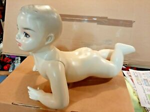 Vintage Baby Boy Mannequin Store Display In Good Condition