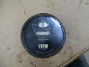Model T Ford Antique Car Black And Brass Speedometer Mt 4624