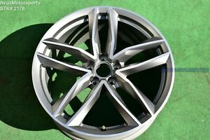 20 Audi A7 S7 Rs7 A8 S8 Oem Wheel Factory Genuine 4h0601025bs