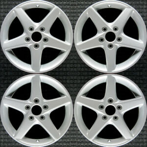 Acura Rsx All Silver 16 Oem Wheel Set 2002 To 2004