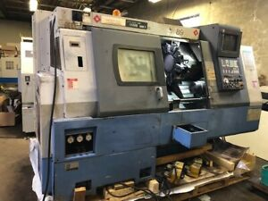 Mazak Sqt 15ms Mark Ii Cnc Lathe With Live Tooling And Sub Spindle