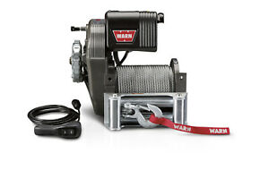 Warn Industries M8274 50 Winch 8 000lb W Roller Fairlead