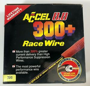 Universal Spark Plug Wires 8 8mm Race 300 Ignition Cables Hei V8 Chevy Gm Ford