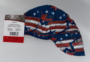 Lincoln K3203 all All American Welding Cap Red White Blues K3203 Ship Free