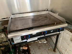 Star max Flat Grill 4 Countertop Gas Griddle Flat Top Grill Commercial Gas