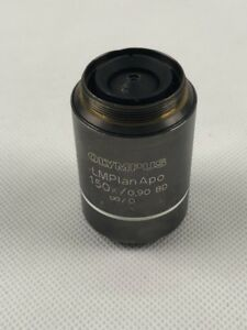 1pc Olympus Lmplanapo 150x 0 90 Bd Light And Dark Field Objective Tested