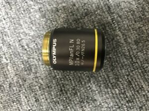 1pcs Olympus Mplanfl N 10x 0 30 Bd Light And Dark Field Objective Tested