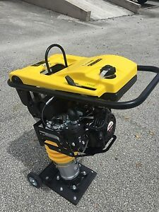 Cormac Tamping Rammer Compactor Model Rm75 6 5 Hp Gasoline With Wheels Kit