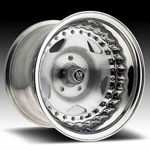 Centerline 000p Convo Pro Brushed Polished 15x10 5x4 75 55mm 000p 51061 55