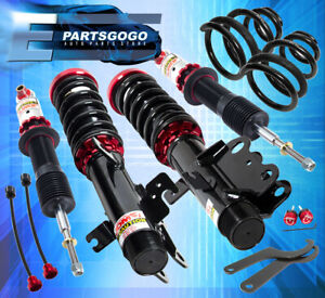14 15 Chevy Camaro Fully Adjustable Suspension Lowering Coilover Spring Unit Set