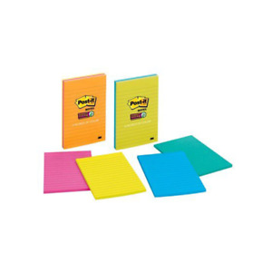 Post it Super Sticky Notes 4645 3ssmx 4 In X 6 In 101 Mm X 152 Mm
