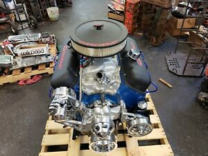 Bb Chevy 454 525hp Chevy Crate Engine Turn Key 2 Year Warranty