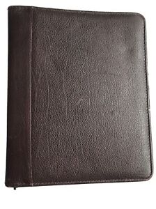 Franklin Quest Planner binder Top grain Verona Leather 12096 157 Usa