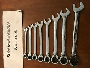 U Pick Gearwrench Tools Spline Ratcheting Ratchet Wrench Metric Reversable Sae