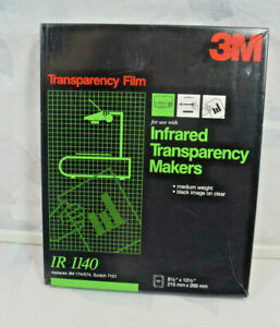 3m Infrared Transparency Film Ir 1140 About 20 Sheets