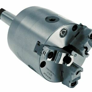 Bison 7 860 0400 3 Jaw Self centering Rotating Chuck With Shank