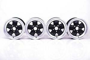 16 Staggered 6j 7j Replacement Wheel Set For Porsche 911 With Fuchs Wheels