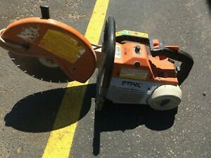 Stihl Ts460 Gas Powered Concrete Cut off Saw 14 Blade