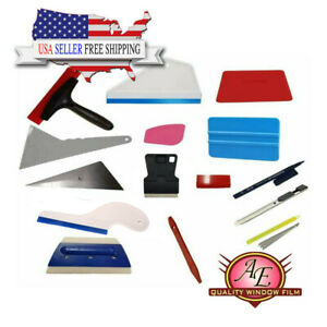 15pc Kit Window Film Tinting Tools Auto Vinyl Wrap Installation Kit