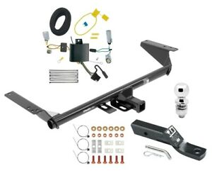 Trailer Tow Hitch For 17 20 Pacifica Lx Touring 20 21 Voyager W Wiring 2 Ball