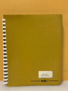Systron Donner 52542 Model 1702 Signal Generator Instruction Manual