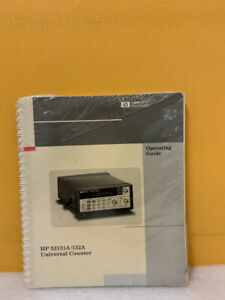 Hp 53131 90001 53131a 132a Universal Counter Operating Guide