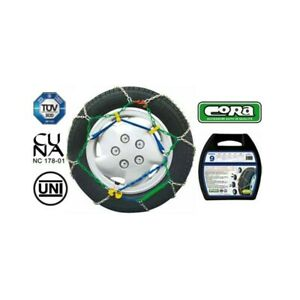 Snow Chains Car 205 45 17 R17 Links Special Mens 9 Mm Homologated
