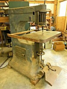 The Porter 612 Overhead Pin Router Wood Working Machinery