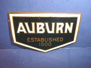 Vintage 1924 1930 Auburn Radiator Emblem Badge Ct27