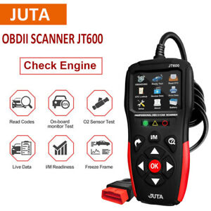 Juta Automotive Obd2 Code Reader Car Scanner Check Engine Fault Diagnostic Tool