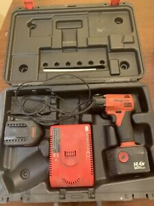 Snap On Ct4410a0 3 8 Drive Cordless Impact Wrench W Slide On Battery Full Set
