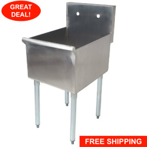 18 1 compartment Stainless Steel Restaurant Kitchen Sink