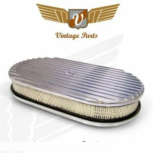 Vintage 15 Oval Full Finned Air Cleaner With Element Vpaa151
