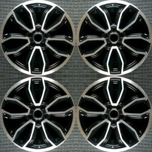 Ford Mustang Machined 19 Oem Wheel Set 2013 To 2014