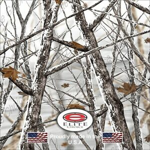 Snow Storm Tree Camo Decal Wrap Vinyl 52 x15 Truck Print Real Camouflage