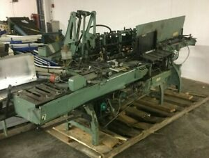 Kirk Rudy bell Howell Mail Inserter Machine
