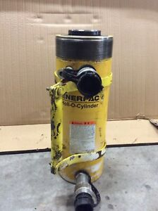 Enerpac Rrh307 Hollow Port a power Ram 30 Ton 7 10000 Psi Two Way
