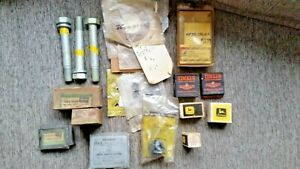 Vintage Genuine John Deere Parts Nos Lot Of 18 Parts A B 520 530 720 More