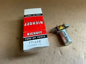 Niehoff Ff 146 Floor Mounted Headlight Dimmer Switch New