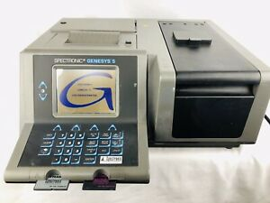 Spectronic Genesys 5 Spectrophotometer 336001 Uv visible Light Softcard