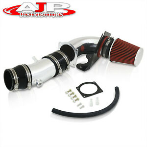 Cold Air Intake Induction Polish Hi Flow Filter For 1994 1995 Mustang 5 0l Gt