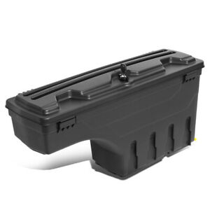 Right Wheel Well Storage Case Tool Box W lock key For 2002 2018 Dodge Ram Truck