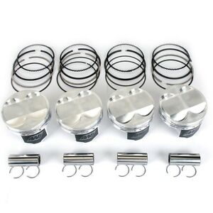 Wiseco 75mm 8 4 1 Cr Honda Civic Ex D16y8 Low Compression Turbo Pistons Forged