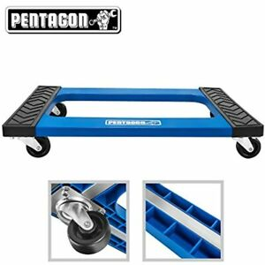 Tool Mover Dolly Furniture Appliances Heavy Items Blue Home Improvement