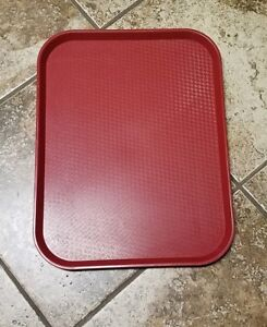 42 Pieces Used Cambro Tray Cafeteria Fast Food Restaurant Nsf 14 x18