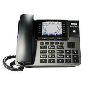 Rca Unison 1 4 Line Tc1100 Wireless Desk Phone
