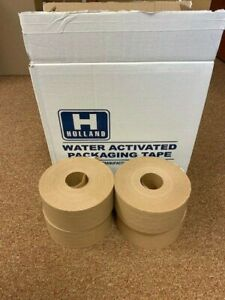 Water Activated Reinforced Paper Tape Holland H 10 3 70mm X 450 4rolls